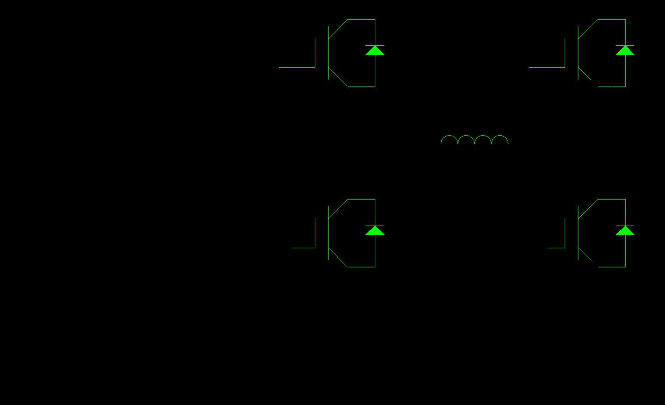 单相桥式SPWM逆变电路